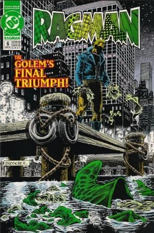 Cover of Ragman (1991 Ltd) #6. One of 250,000 Vintage American Comics on sale from Krypton!