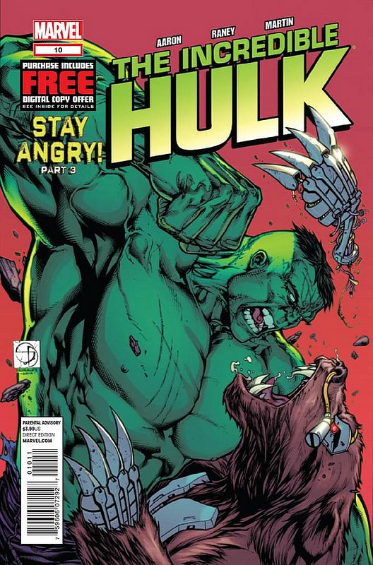 Cover of Incredible Hulk (Vol 5) #10. One of 250,000 Vintage American Comics on sale from Krypton!