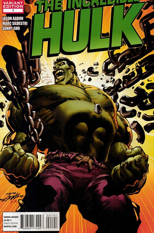 Cover of Incredible Hulk (Vol 5) #1. One of 250,000 Vintage American Comics on sale from Krypton!