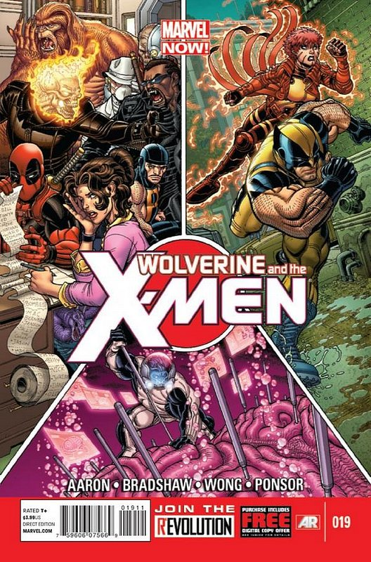 Cover of Wolverine & X-Men (Vol 1) #19. One of 250,000 Vintage American Comics on sale from Krypton!