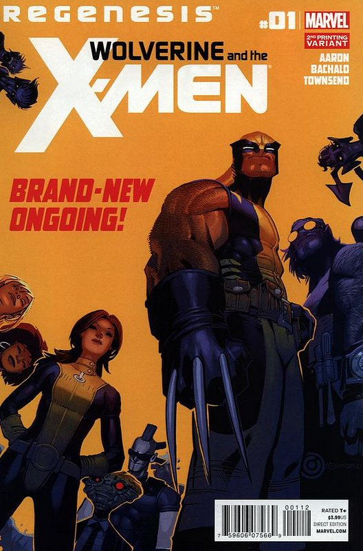 Cover of Wolverine & X-Men (Vol 1) #1. One of 250,000 Vintage American Comics on sale from Krypton!