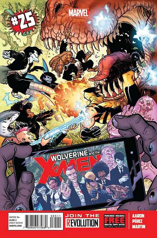 Cover of Wolverine & X-Men (Vol 1) #25. One of 250,000 Vintage American Comics on sale from Krypton!