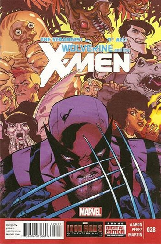 Cover of Wolverine & X-Men (Vol 1) #28. One of 250,000 Vintage American Comics on sale from Krypton!