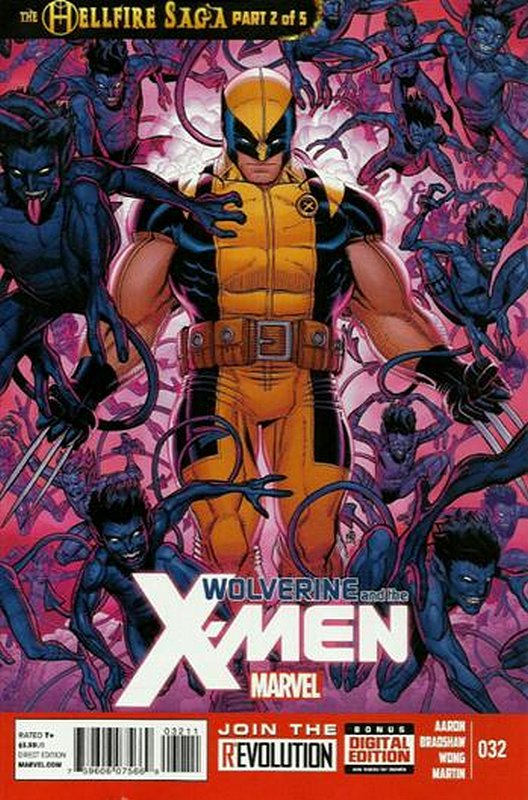 Cover of Wolverine & X-Men (Vol 1) #32. One of 250,000 Vintage American Comics on sale from Krypton!