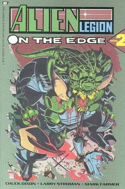 Cover of Alien Legion: On The Edge (1990 Ltd) #2. One of 250,000 Vintage American Comics on sale from Krypton!