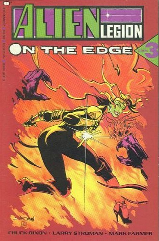 Cover of Alien Legion: On The Edge (1990 Ltd) #3. One of 250,000 Vintage American Comics on sale from Krypton!