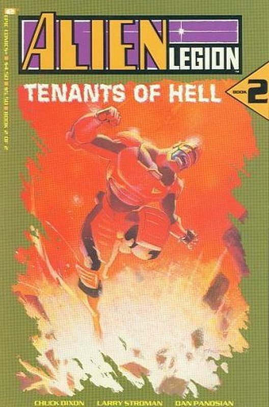 Cover of Alien Legion: Tenants of Hell (1991 Ltd) #2. One of 250,000 Vintage American Comics on sale from Krypton!