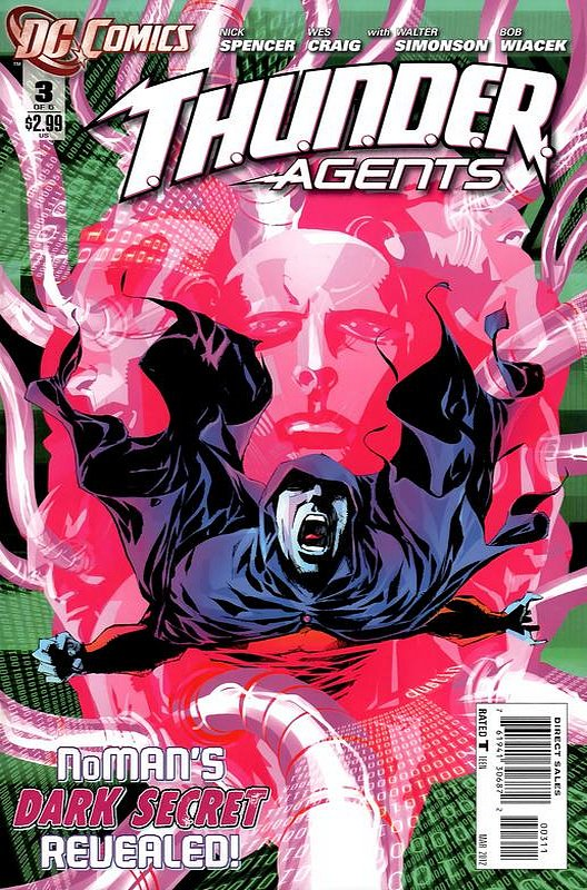 Cover of Thunder Agents (2011 Ltd) #3. One of 250,000 Vintage American Comics on sale from Krypton!