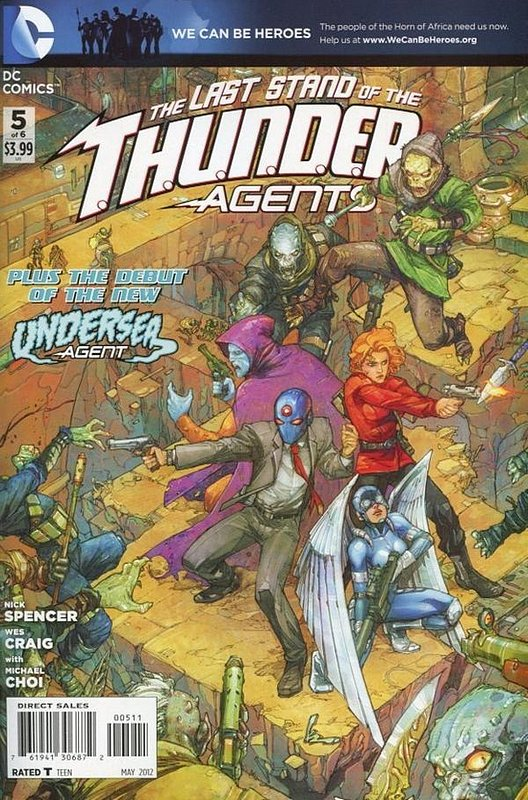 Cover of Thunder Agents (2011 Ltd) #5. One of 250,000 Vintage American Comics on sale from Krypton!