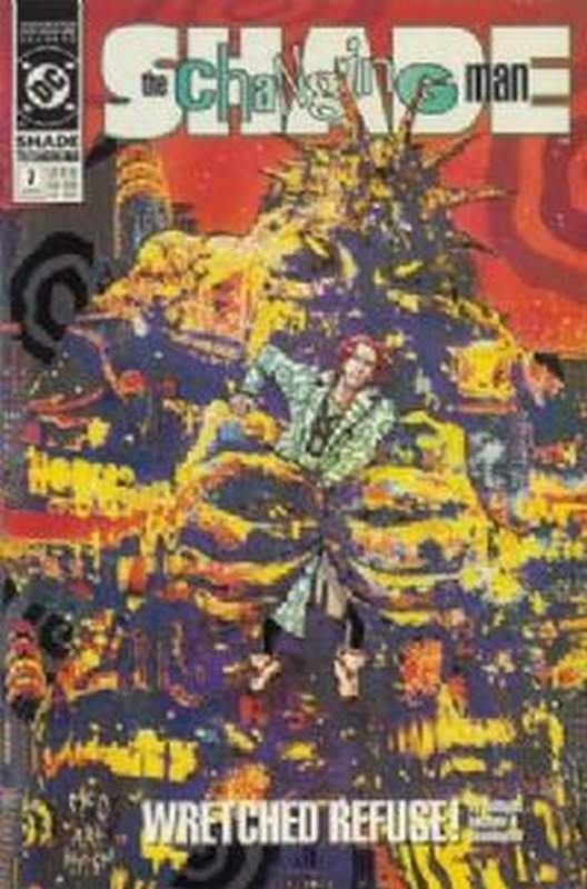 Cover of Shade: The Changing Man (Vol 2) #7. One of 250,000 Vintage American Comics on sale from Krypton!