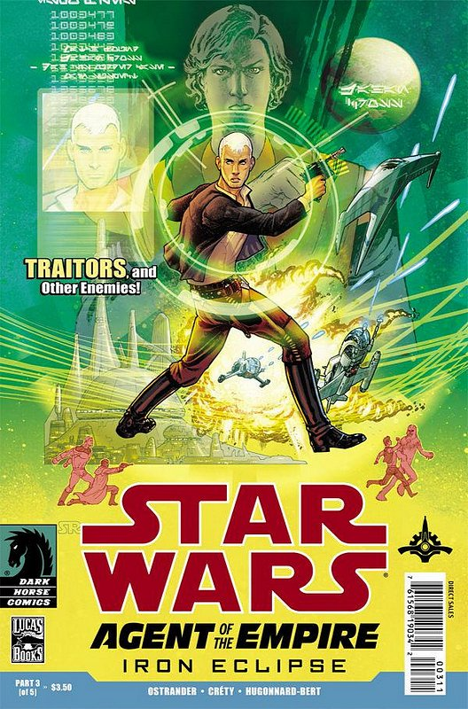 Cover of Star Wars: Agent of Empire - Iron Eclipse #3. One of 250,000 Vintage American Comics on sale from Krypton!