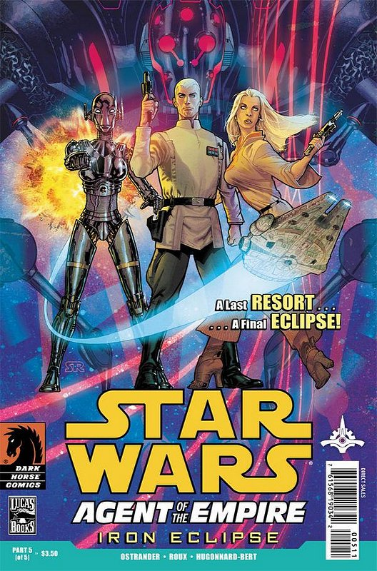 Cover of Star Wars: Agent of Empire - Iron Eclipse #5. One of 250,000 Vintage American Comics on sale from Krypton!