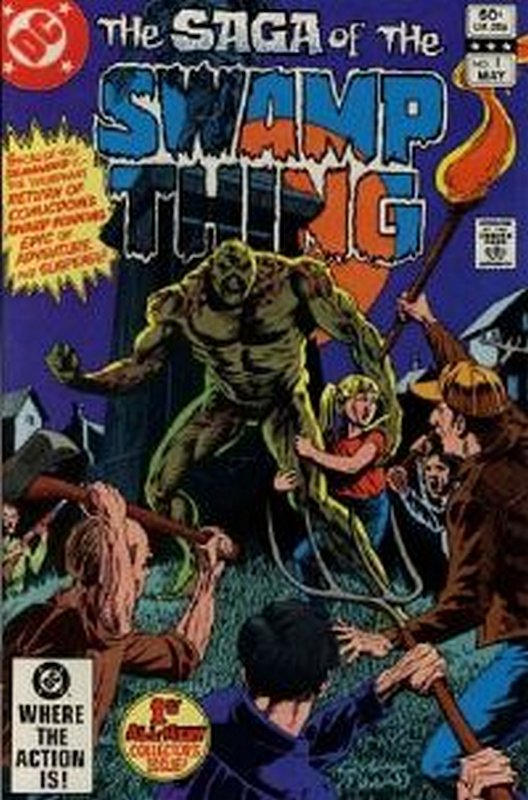 Cover of Swamp Thing (Vol 2) #1. One of 250,000 Vintage American Comics on sale from Krypton!