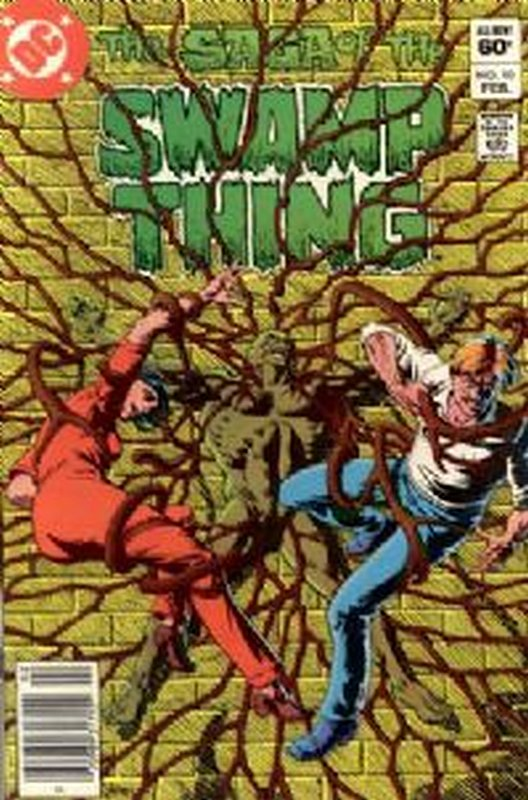 Cover of Swamp Thing (Vol 2) #10. One of 250,000 Vintage American Comics on sale from Krypton!