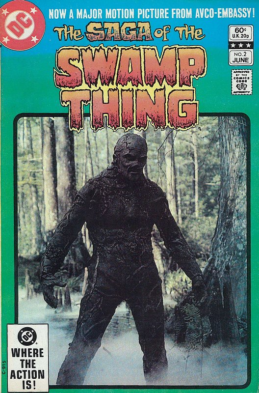 Cover of Swamp Thing (Vol 2) #2. One of 250,000 Vintage American Comics on sale from Krypton!