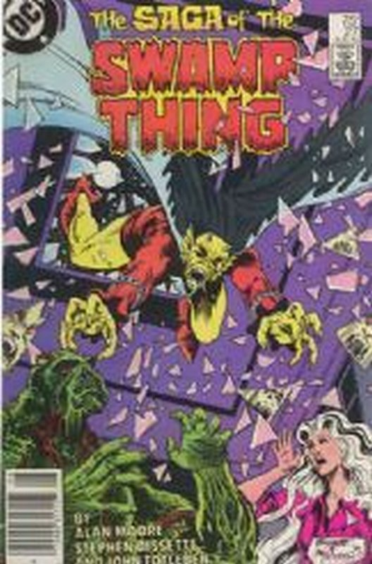 Cover of Swamp Thing (Vol 2) #27. One of 250,000 Vintage American Comics on sale from Krypton!