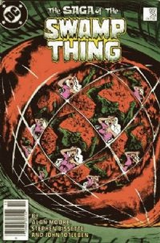 Cover of Swamp Thing (Vol 2) #29. One of 250,000 Vintage American Comics on sale from Krypton!