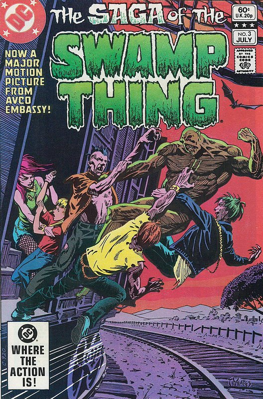 Cover of Swamp Thing (Vol 2) #3. One of 250,000 Vintage American Comics on sale from Krypton!