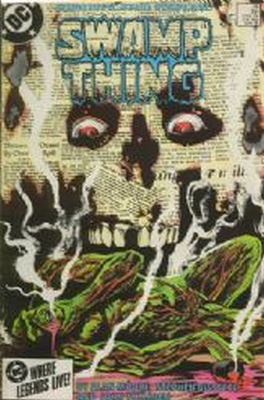 Cover of Swamp Thing (Vol 2) #35. One of 250,000 Vintage American Comics on sale from Krypton!