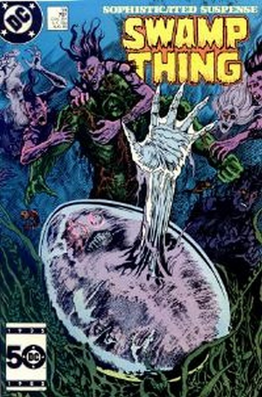 Cover of Swamp Thing (Vol 2) #39. One of 250,000 Vintage American Comics on sale from Krypton!