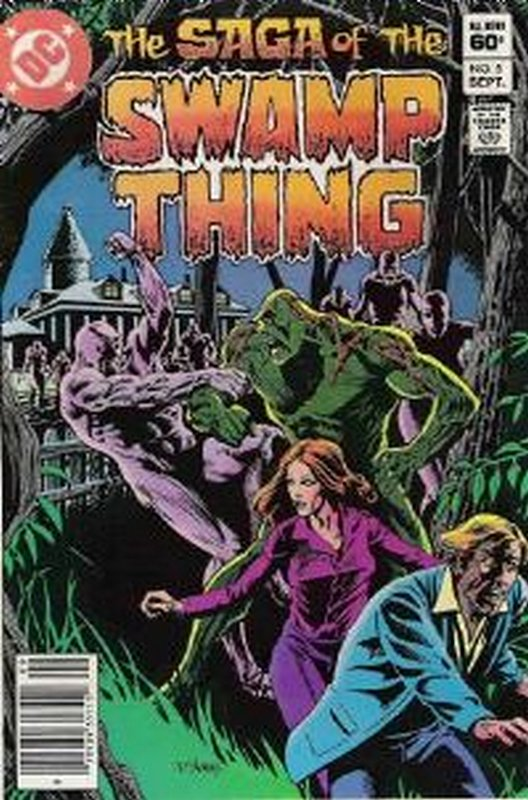 Cover of Swamp Thing (Vol 2) #5. One of 250,000 Vintage American Comics on sale from Krypton!