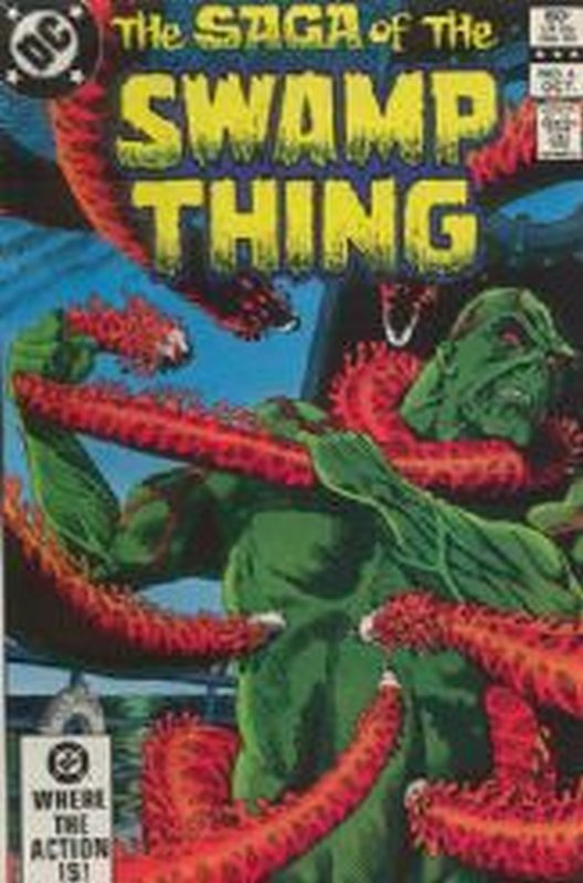 Cover of Swamp Thing (Vol 2) #6. One of 250,000 Vintage American Comics on sale from Krypton!