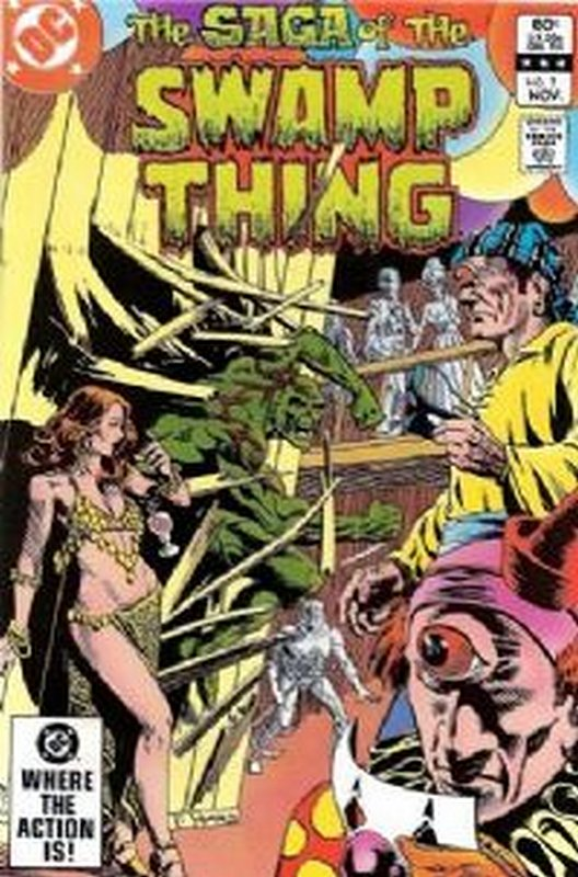 Cover of Swamp Thing (Vol 2) #7. One of 250,000 Vintage American Comics on sale from Krypton!