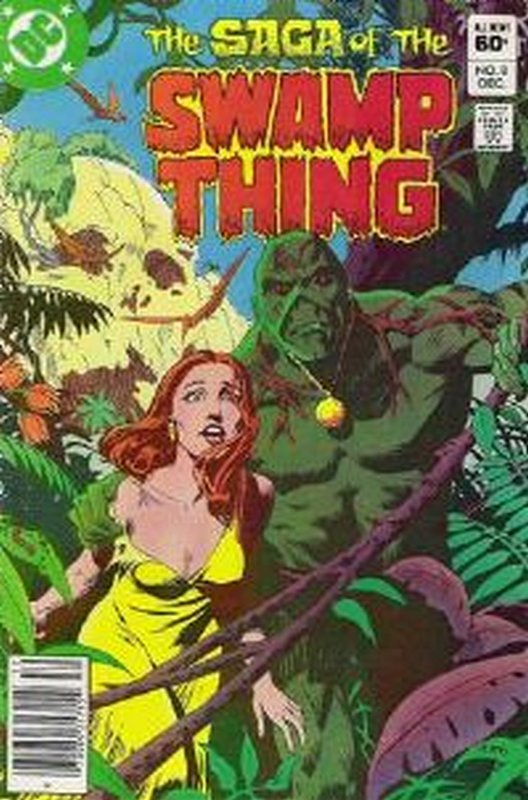 Cover of Swamp Thing (Vol 2) #8. One of 250,000 Vintage American Comics on sale from Krypton!