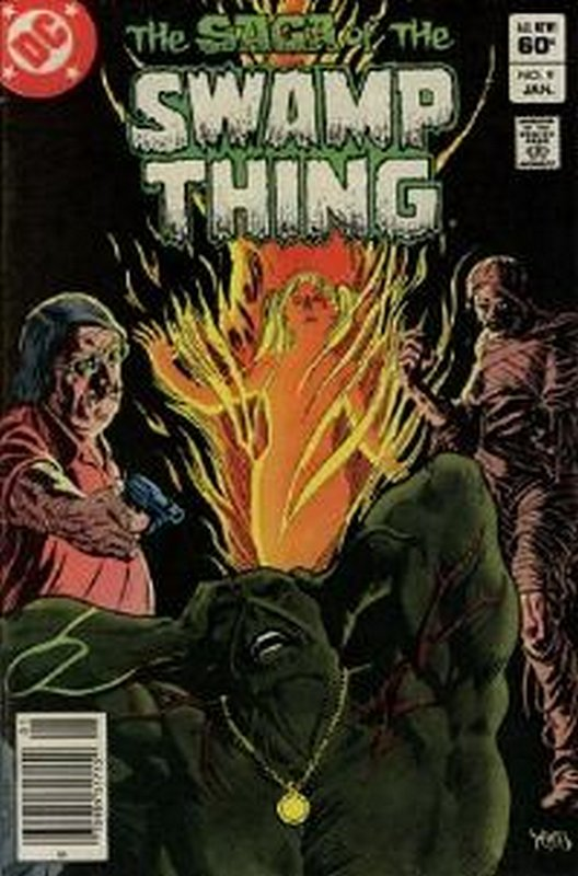 Cover of Swamp Thing (Vol 2) #9. One of 250,000 Vintage American Comics on sale from Krypton!