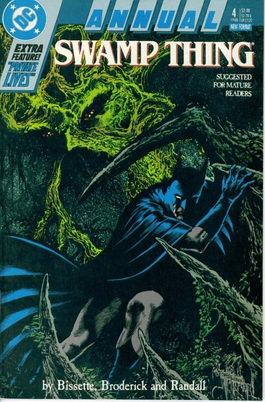 Cover of Swamp Thing Annual (1982) #4. One of 250,000 Vintage American Comics on sale from Krypton!