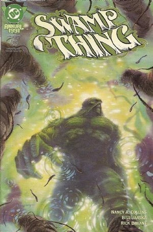 Cover of Swamp Thing Annual (1982) #6. One of 250,000 Vintage American Comics on sale from Krypton!