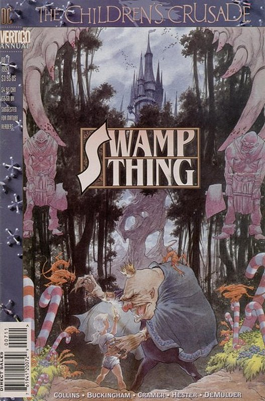 Cover of Swamp Thing Annual (1982) #7. One of 250,000 Vintage American Comics on sale from Krypton!