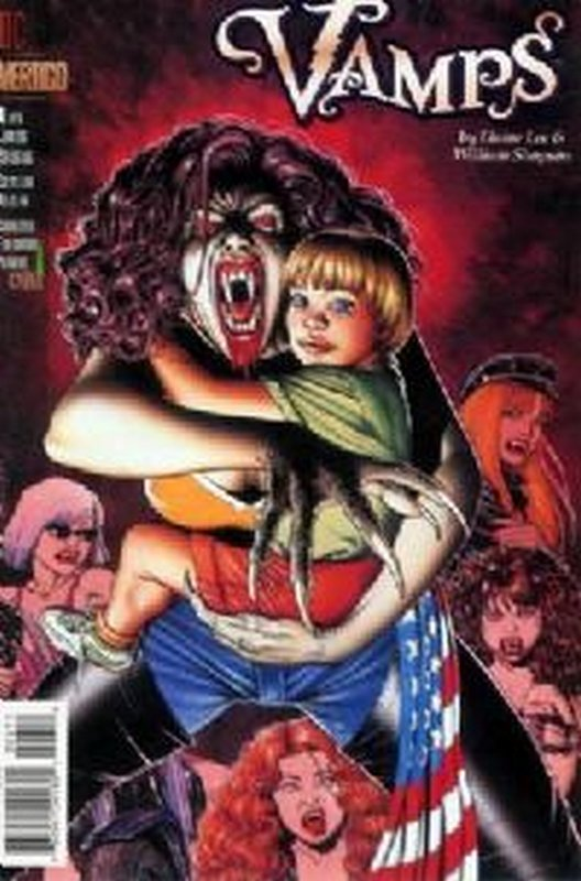 Cover of Vamps (1994 Ltd) #6. One of 250,000 Vintage American Comics on sale from Krypton!