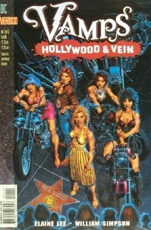 Cover of Vamps: Hollywood & Vein (1996 Ltd) #1. One of 250,000 Vintage American Comics on sale from Krypton!