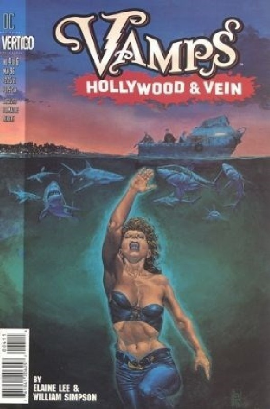 Cover of Vamps: Hollywood & Vein (1996 Ltd) #4. One of 250,000 Vintage American Comics on sale from Krypton!