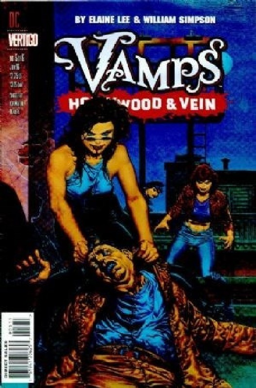 Cover of Vamps: Hollywood & Vein (1996 Ltd) #5. One of 250,000 Vintage American Comics on sale from Krypton!