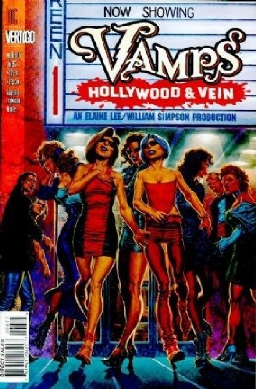 Cover of Vamps: Hollywood & Vein (1996 Ltd) #6. One of 250,000 Vintage American Comics on sale from Krypton!