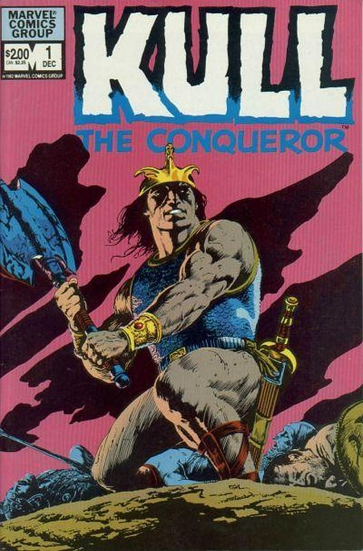 Cover of Kull the Conqueror (Vol 2) #1. One of 250,000 Vintage American Comics on sale from Krypton!