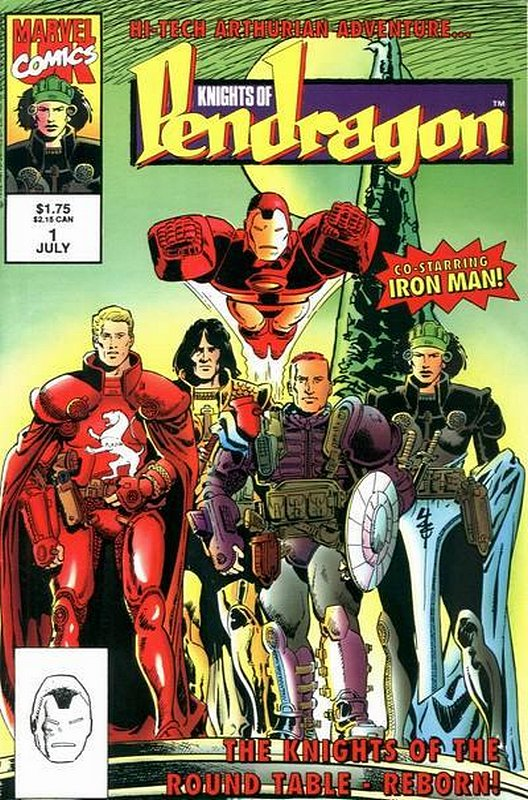 Cover of Knights of Pendragon (Vol 2) #1. One of 250,000 Vintage American Comics on sale from Krypton!
