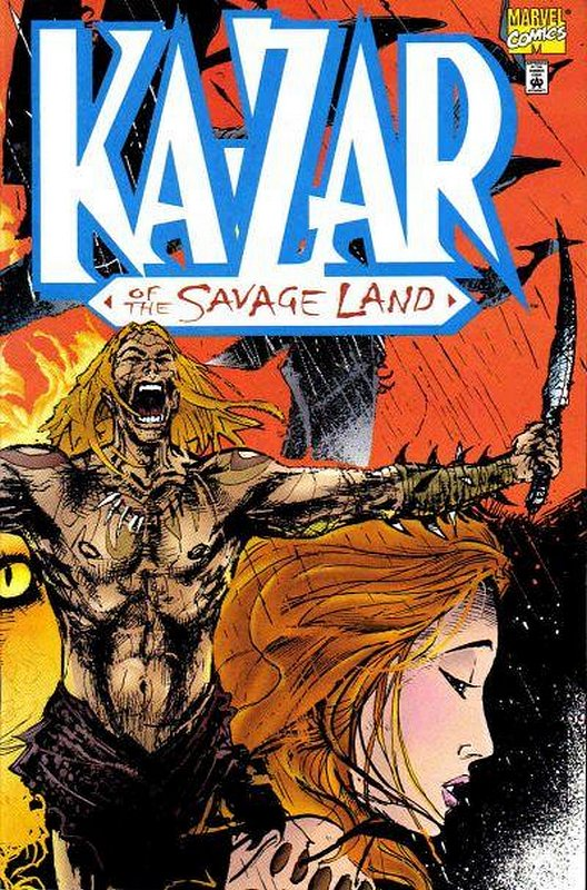 Cover of Ka-Zar of the Savage Land (1997 One Shot) #1. One of 250,000 Vintage American Comics on sale from Krypton!