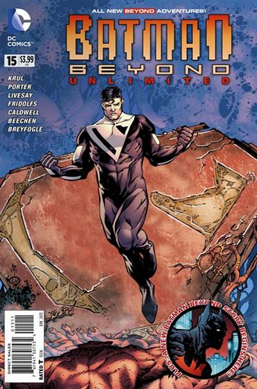 Cover of Batman Beyond: Unlimited (Vol 1) #15. One of 250,000 Vintage American Comics on sale from Krypton!