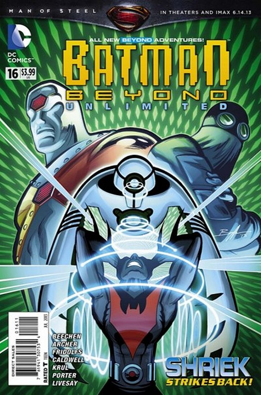 Cover of Batman Beyond: Unlimited (Vol 1) #16. One of 250,000 Vintage American Comics on sale from Krypton!
