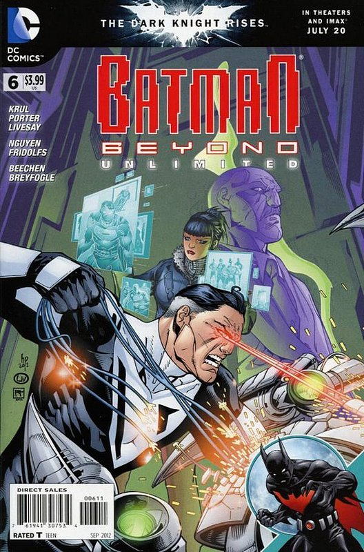 Cover of Batman Beyond: Unlimited (Vol 1) #6. One of 250,000 Vintage American Comics on sale from Krypton!