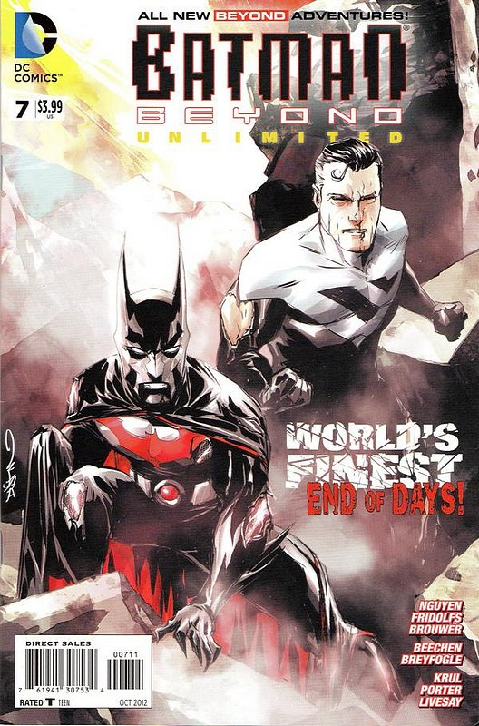 Cover of Batman Beyond: Unlimited (Vol 1) #7. One of 250,000 Vintage American Comics on sale from Krypton!