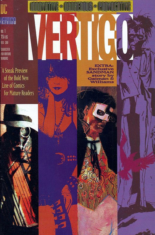 Cover of Vertigo Preview (1992 One Shot) #1. One of 250,000 Vintage American Comics on sale from Krypton!