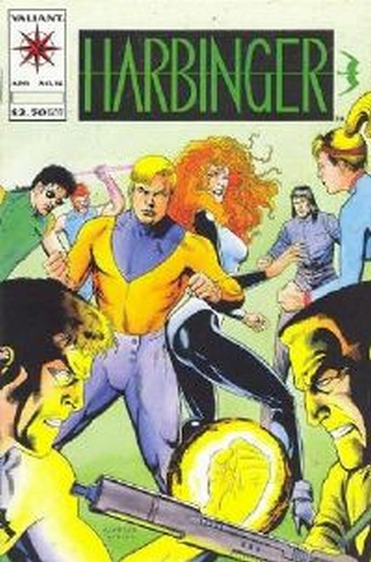 Cover of Harbinger (Vol 1) #16. One of 250,000 Vintage American Comics on sale from Krypton!