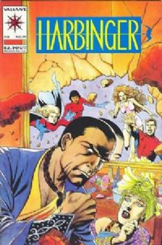 Cover of Harbinger (Vol 1) #19. One of 250,000 Vintage American Comics on sale from Krypton!