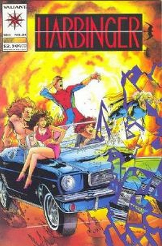Cover of Harbinger (Vol 1) #24. One of 250,000 Vintage American Comics on sale from Krypton!