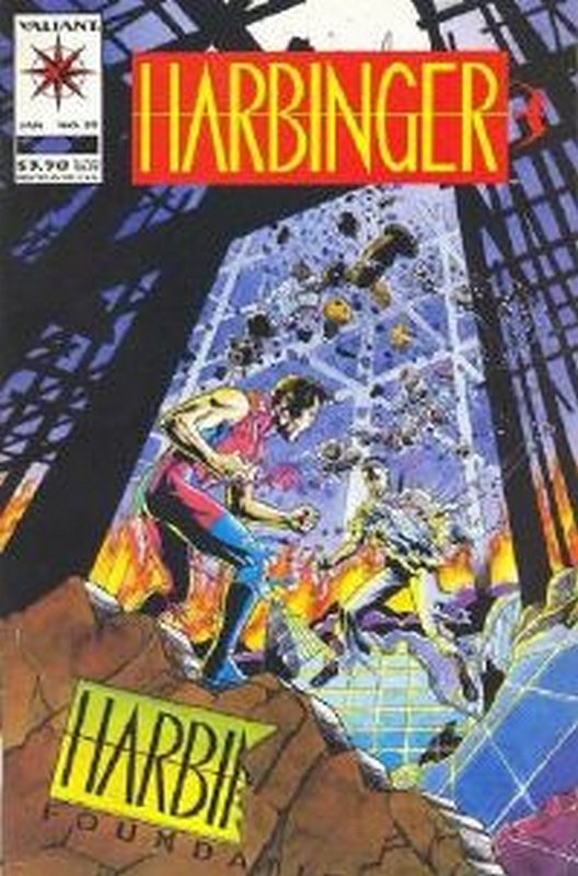 Cover of Harbinger (Vol 1) #25. One of 250,000 Vintage American Comics on sale from Krypton!