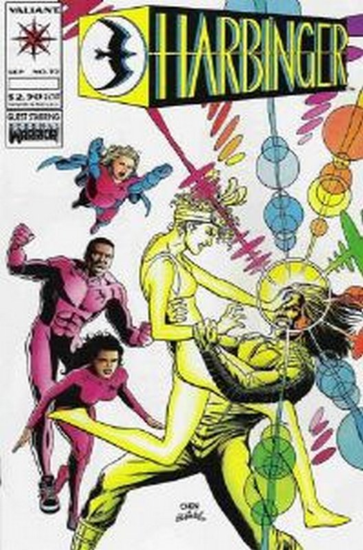 Cover of Harbinger (Vol 1) #32. One of 250,000 Vintage American Comics on sale from Krypton!